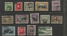 Canal  Zone lot of used  stamps with better          MS0104