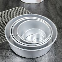 4inch Round Cake Mold Non-stick Pan Tray Cheese Bread Baking Tool Aluminum Alloy