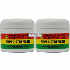 "African Queen Beauty Cream Super Strength 2 Oz / 56.6 g ""Pack of 2"""