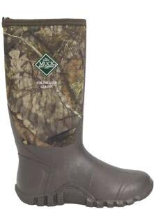 Muck Edgewater Fieldblazer Boots Mossy Oak Waterproof Tall Men's Size 10 - NEW