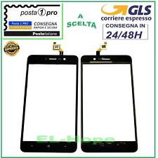 TOUCH SCREEN VETRO WIKO LENNY 4 DIGITIZER VETRINO NERO 5.0''