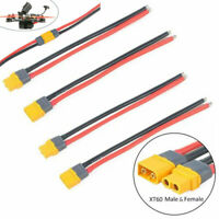 4pcs XT60 Plug Male Female Connector Cable  for RC Lipo Battery FPV Drone