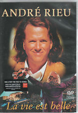 ANDRE RIEU - LA VIE EST BELLE - DVD - NTSC FORMAT - ALL REGIONS PLAYER NEEDED