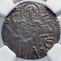 MANUEL I Trebizond Empire 1238AD Silver Asper Ancient Byzantine Coin NGC i81712