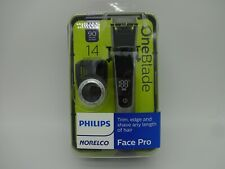 Philips Norelco Oneblade QP6520/70 Face Pro Hybrid Electric Trimmer & Shaver