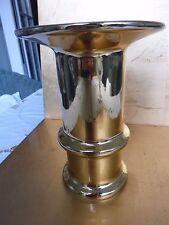 GEROLD PORZELLAN, VASE, GOLD, TOLLE FORM, HOCHWERTIG, Höhe 18, Dm 13 cm