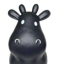 Black Cow Bouncy Hopper Toy