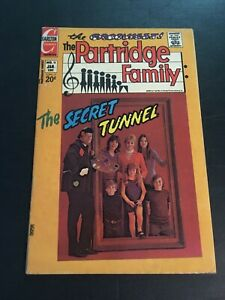 PARTRIDGE FAMILY #15 1973 CHARLTON VG