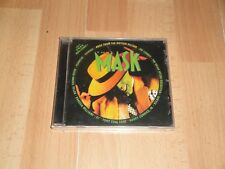 THE MASK MUSIC CD FROM MOTION PICTURE SOUNDTRACK + INCLUDES FREE MINI-COMIC! NEW