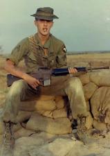 Vietnam War U.S. Army 101st Airborne KIA At 18 Soon After 1968 8.5x11 Old Photo