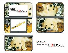HAUT STICKER AUFKLEBER - NINTENDO NEU 3DS XL - 3DSXL REF 63 HUND