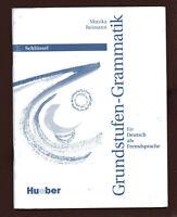 Reimann GRUNDSTUFEN-GRAMMATIK für Deutsch als Fremdsprache Huever Vl  top