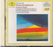 Liszt: Faust Symphonie (Sinfonia) / Bernstein, Riegel, Boston SO- CD