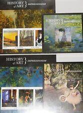 PALAU 2013 History of Art Kunstgeschichte Epochen Paintings Handicrafts MNH