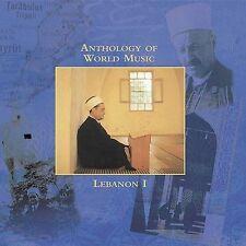 anthology of world music lebanon cd