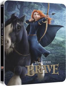Brave Blu Ray + 3D [UK Ltd Edition] STEELBOOK **NEW/SEALED**