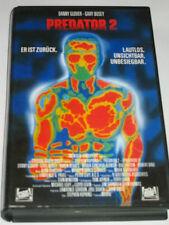 FOX Video - Predator 2 - VHS/Action/Danny Glover/Gary Busey/Bill Paxton/FSK 18