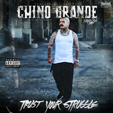 "Chino Grande Of  Charlie Row Campo ""Trust Your Struggle"" Rare Hard Copy"