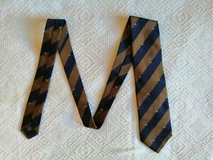 BURBERRY London Cravatta Vintage (made in Italy) Tie 100% Seta Silk Soie