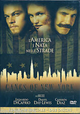 Gangs of New York (2002) 2DVD NUOVO L. Di Caprio D. Day-Lewis C. Diaz M Scorsese