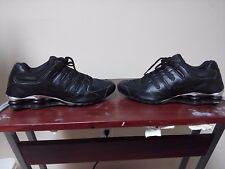 Nike Shox NZ Premium Men's Shoes size 9.5 Black Chrome 536184-001