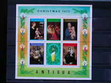 ANTIGUA '1973 ** MNH BF9 YT 5,50 EUR FAMOUS PAINTINGS,PEINTRES CELEBRES,TABLEAUX