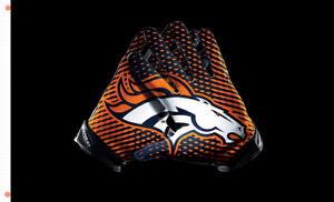 Denver Broncos Gloves Memorable flag 90x150cm 3x5ft best team banner