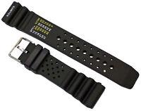 Kautschuk Taucher Uhrenarmband Schwarz Passend Citizen Promaster 22mm Armband
