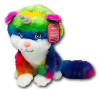 Hallmark Caticorn Cat/Unicorn Soft Plush/Stuffed Animal Toy. Rainbow Colors New