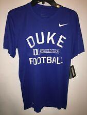 Nike Football DUKE BLUE DEVILS College Legend Short Sleeve Lift DriFit Tee Shirt