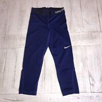 Women's Nike Pro Compression Leggings Small Purple Workout Yoga Pants