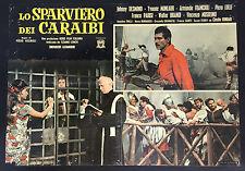 CINEMA-fotobusta LO SPARVIERO DEI CARAIBI parisi, desmond, monlaur, REGNOLI