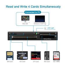 Multi SM Memory Smart Media Internal Card Reader for SD xD CF Adapter Memory