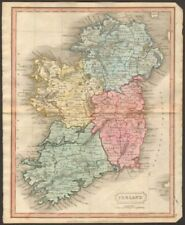 Ireland Copper Plate Antique Europe Atlas Maps