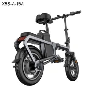 Mini Electric Bike Scooter Without Chain 400W 30KM/H 48V15A Ebike Bicycle
