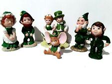 Lot of 6 Vintage Rare Lefton Irish Figurines Collectibles