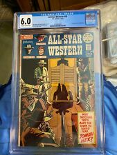 1972 DC Comics All Star Western #10 1st Jonah Hex CGC graded 6.0