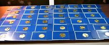 1977 FRANKLIN MINT  MEDALLIC HISTORY OF THE AMERICAN PRESIDENCY SILVER MEDALS