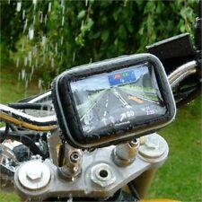 """5"""" Screen GPS Satnav Motorcycle Bike Waterproof Mount & Mini USB Hella DIN Plug"""