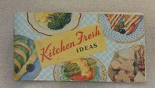 1931 Kraft Kitchen Fresh Ideas Recipe File Index Card Salad Cook Book Booklet AD