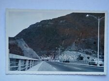 CARACAS VENEZUELA autopista La Guaira old postcard vecchia cartolina