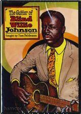 The Guitar of Blind Willie Johnson DVD Tom Feldmann Acoustic Slide SEALED