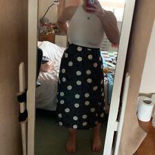 Petite New Look Spotty Midi Skirt