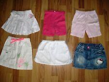 Kinderkleidung Röckepaket Mädchen gr.98-116, Pretty Girl, Mini Star, Gymboree...