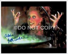 Bette Midler Hocus Pocus Signed Autographed Reprint