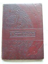 1947 KEARNY HIGH SCHOOL YEARBOOK SAN DIEGO, CALIFORNIA  KOMET