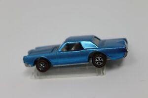Hot Wheels Redline Lincoln continental mark iii Blue white interior