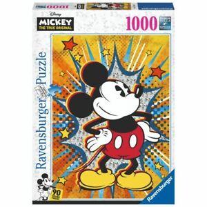 Ravensburger Puzzle Disney 1000 Piece Retro Mickey