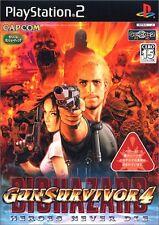Used PS2 Gun Survivor 4: Biohazard Resident Evil Heroes Never Die Japan Import、