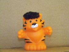 Fisher Price Little People Tiger Touch & Feel 2005 Ark Replacement Black Fur
